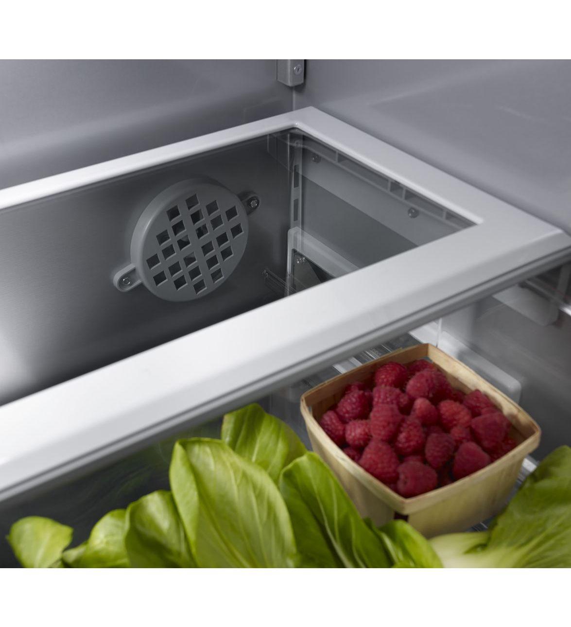 36 kitchenaid 20 8 cu ft built in panel ready french - Kitchenaid refrigerator platinum interior ...