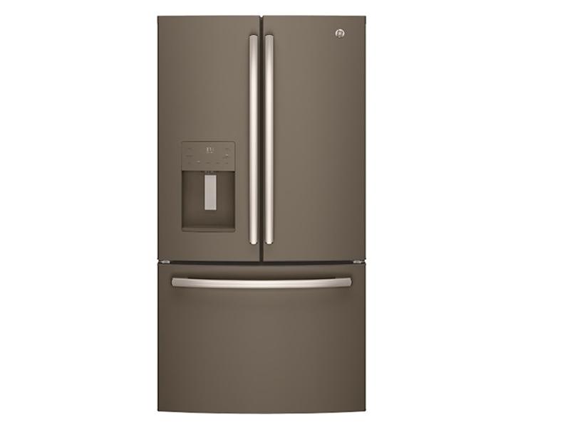mount refrigerator door Bottom french