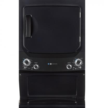 GE Unitized Spacemaker Washer and Electric Dryer - GUD37EEMNDG