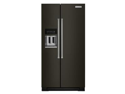 Attrayant KitchenAid 22.7 Cu. Ft. Counter Depth Side By Side Refrigerator With  Exterior