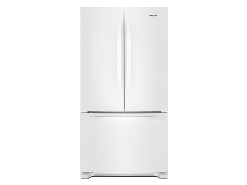 36 Whirlpool Counter Depth French Door Refrigerator 20 Cu Ft Wr