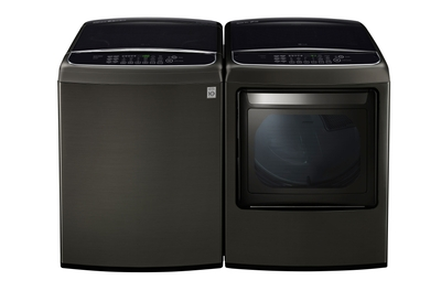 LG 5.8 cu. ft. Ultra Large Capacity Front Control Top Load Washer with TurboWash WT1901CK